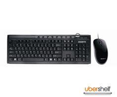 GIGABYTE GK-KM6150 WIRED DESKTOP SET Mice, Computer Keyboard, Desktop, Computer Mouse, Keyboard