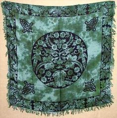 Greenman Altar Cloth 36 X 36