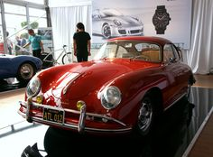 Another beautiful Porsche 356 at the Monterey Car Week  This was mine in blue:)