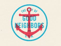 The City of Good Neighbors & Buffalo Wings by Michael Smith (http://dribbble.com/mikesmith187)