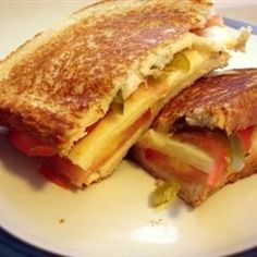 """Fried Green Tomato Sandwich 