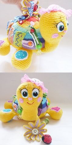 Watch This Video Incredible Crochet a Bear Ideas. Cutest Crochet a Bear Ideas. Crochet Baby Toys, Crochet Toys Patterns, Crochet For Kids, Amigurumi Patterns, Crochet Animals, Crochet Dolls, Crochet Fruit, Crochet Food, Crochet Gifts