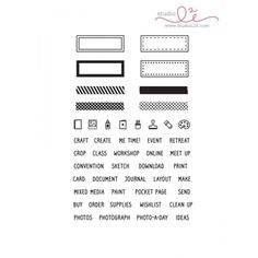 Studio L2E CREATIVE PLANS Clear Stamp set