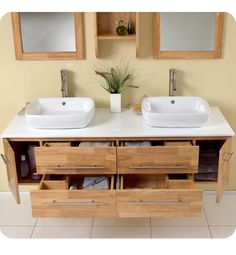 20 Amazing Floating Modern Vanity Designs | More Rustic feel and ...