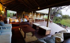 Motswiri Camp is set in the same area as the famous Zarafa and Selinda Camps, right on the southern tip of this Greater Linyanti Reserve. South Afrika, Game Lodge, Okavango Delta, Outdoor Furniture Sets, Outdoor Decor, Lodges, Safari, Africa, Camping