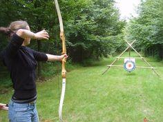 Archery - boogschieten  Cool home target stand