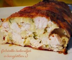 Meat Recipes, Cake Recipes, Chicken Recipes, Cooking Recipes, B Food, Food Porn, Cookie Pizza, Hungarian Recipes, Hungarian Food