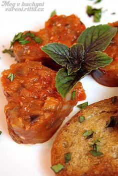 Recepty Archives - Strana 23 z 38 - Meg v kuchyni Eggplant, Baked Potato, Hamburger, Salads, Sandwiches, Food And Drink, Favorite Recipes, Healthy Recipes, Treats