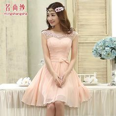 nice dress for a party or a wedding, though I personally would like it in another color :)