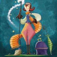 "Brenda. Una de las ""Tias brujas"". Princess Zelda, Fictional Characters, Art, Bruges, Projects, Art Background, Kunst, Gcse Art, Art Education Resources"