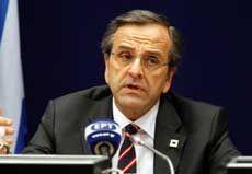 Premierminister Samaras zum neuen EU-Haushalt