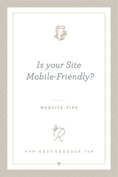 How to make sure your site is mobile friendly