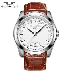 GUQNQIN Casual Watch Men Waterproof Leather Business Men's Fashion Quality Automatic Mechanical Watches relogio masculino Clock   Tag a friend who would love this!   FREE Shipping Worldwide   Get it here ---> https://shoppingafter.com/products/guqnqin-casual-watch-men-waterproof-leather-business-mens-fashion-quality-automatic-mechanical-watches-relogio-masculino-clock/