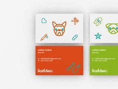 Bark&Rec Visual Identity on Behance  |by not available design