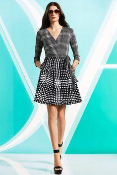 Diane von Furstenberg Pre-Fall 2014 Fashion Show Collection