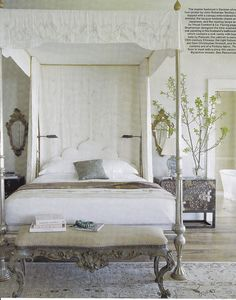 Beautiful canopy bed