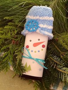 Teacher class coworker gift snowman candy by PartyTimeDesign