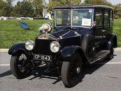 1920 Limousine by Rippon (chassis 17YE)