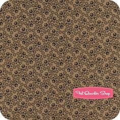 Harvest Palette Brown Weaving Floral Yardage SKU# 0613-113