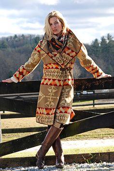 Prairie Blanket Coat - Tasha Polizzi