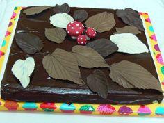 brownie de otoño