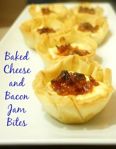 Baked Cheese and Bacon Jam Bites recipe using Lucerne products at Safeway