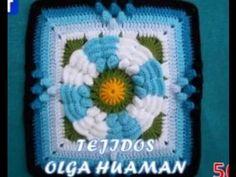Muestras tejidas a crochet para colchas de cama, gratis