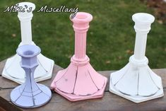 Craft Tutorial: Plate Pedestals from Flea Market Finds - Mitzi's ...