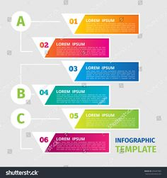 Creative concept for infographic. Business data visualization. Process chart. Abstract elements of graph, diagram. Vector business template for presentation.