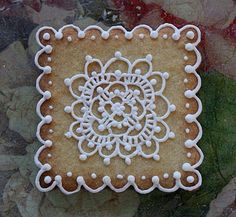 lace cookie