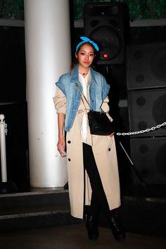 [STREET SNAP]吉田沙世   Model   ストリートスナップ   FAKE TOKYO 1ST ANNIVERSARY PARTY  