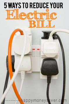 5 Ways to Reduce your Electricty Bill!!