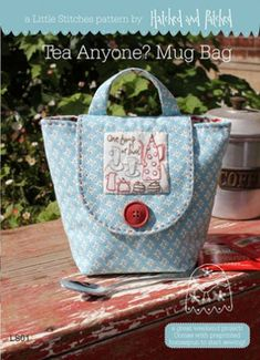Tea Anyone? Mug Bag - Little Stitches | Hatched and Patched