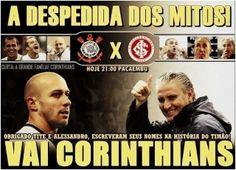 Corinthians em clima de despedida