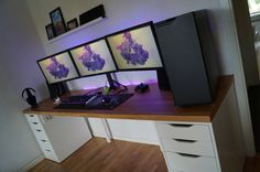 Newly built desk!!!