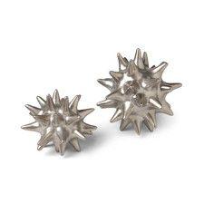 Urchin Matte Silver Objet