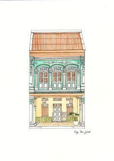 Behance : Baba & Nyonya / Peranakan (Straits Chinese)