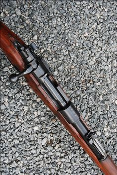 Deactivated Mauser Sniper Rifle - the infamous fitted with various scope configerations - Check this page for Deactivated Kar 98 Mauser Sniper Rifle! Weapons Guns, Guns And Ammo, K98, Bolt Action Rifle, Lever Action, Survival Equipment, Cool Guns, Shotgun, Firearms
