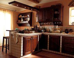 CUCINA IN MURATURA | Kitchen | Pinterest | Cucina, Kitchens and ...