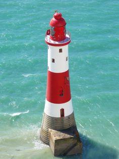 Beachy Head Lighthouse  A picture of: Beachy Head, Eastbourne, England