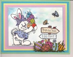 Egg Hunt by bmbfield - Cards and Paper Crafts at Splitcoaststampers