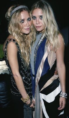 Mary-Kate Olsen February 7, 2011  Where: With Ashley Olsen at a party in Los Angeles, California.