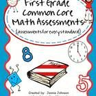 Need assessments for First Grade Common Core for end of year?  These assessments cover all standards. On sale through today May 8th.  Enter coupon code TAD13 at checkout.