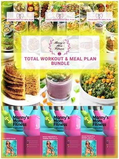 Total Workout & Meal Plan Bundle