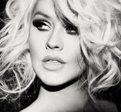 Old Hollywood Black and White Glamour | Christina Aguilera