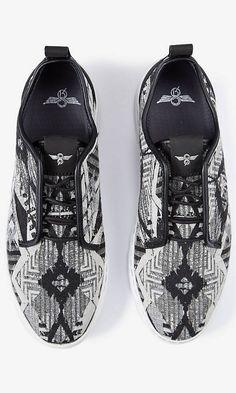 296a6fd93f4 Creative Recreation Lacava Q Tribal Print Sneaker