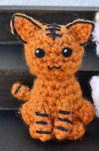 Kisa Tiger Amigurumi ( Fruits Basket Zodiac Animals) Free Pattern (Scroll Down)