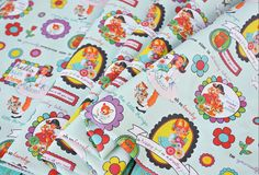 enjoy the little things fabric by lemon tree studio