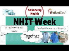 iPatientCare Set to Participate and Celebrate 10th Anniversary of National Health IT Week