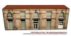 Un nuevo edificio de papel de la serie Ourense protagoniza nuestra entrada de hoy. La maqueta de papel reproduce una construcción de estilo clásico y elegante, situada en la Calle del Progreso, lindando con la finca que alberga el Obispado.